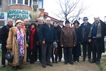 Dezvelirea bustului marelui cineast  Sergiu Nicolaescu