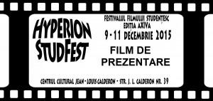 Film Prezentare Hperion StudFest 2015